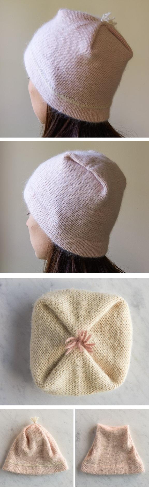 Bonnet réversible - tutoriel