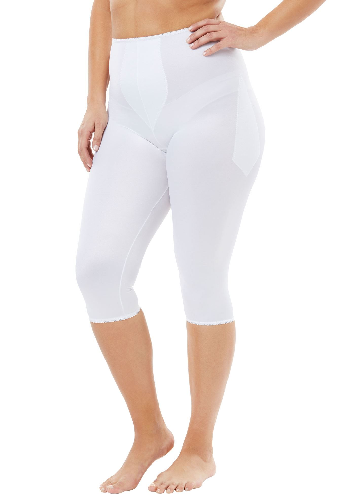 0835ef593c6 Light Shaping Pant Liner by Rago - Women s Plus Size Clothing