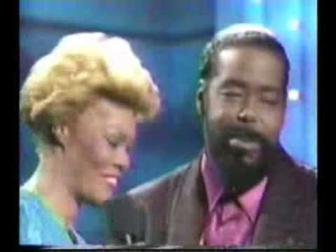 Dionne Warwick Never Gonna Give You Up Duet With Barry White