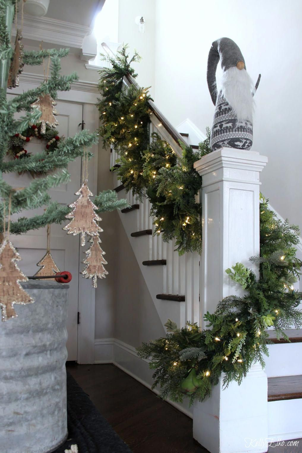 Christmas Homecoming Ideas.Homemade Christmas Decorations Garland Christmas Homecoming