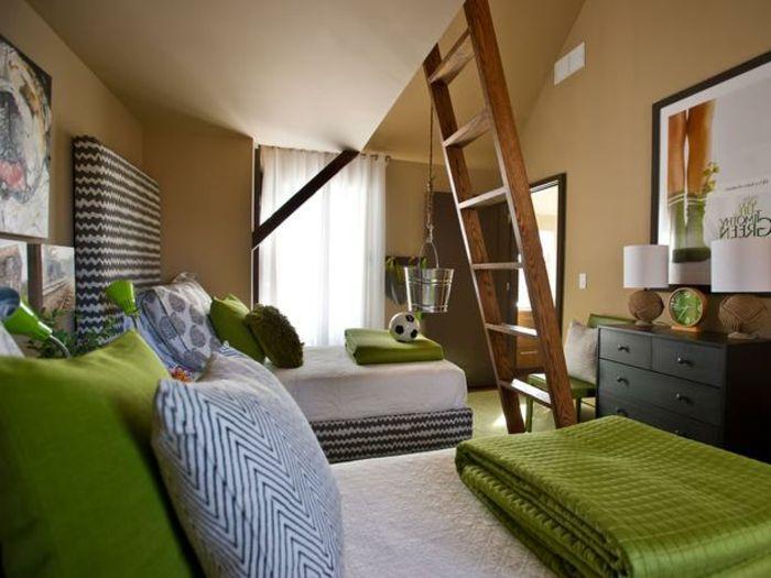 Moderne Zimmerfarben Ideen in 150 unikalen Fotos! - moderne betten ideen