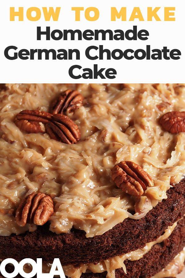 How To Make A Fantastic Homemade German Chocolate Cake