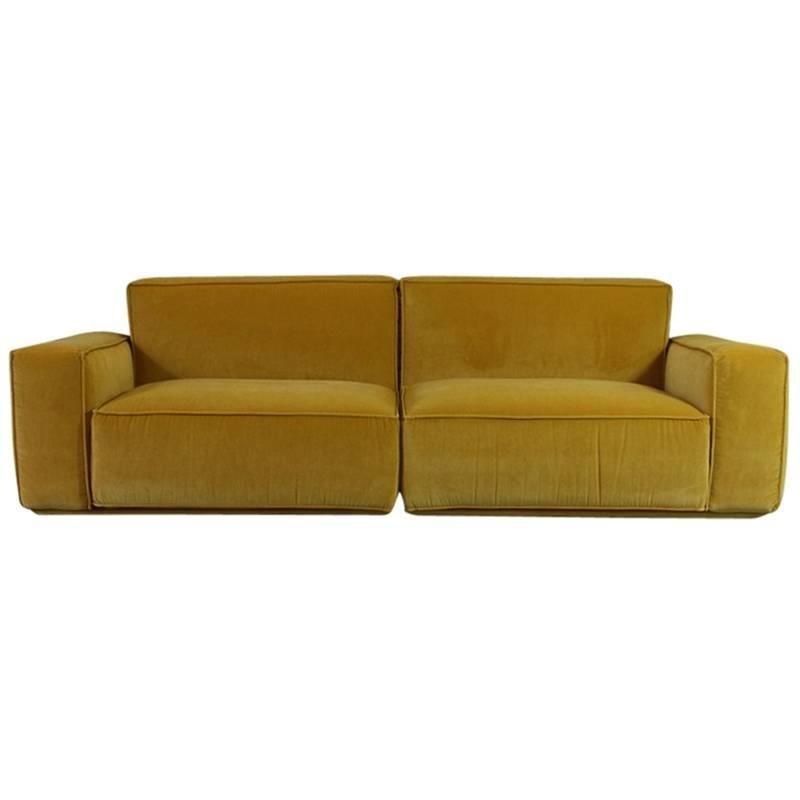 Marechiaro Xiii Yellow Sofa By Arflex Italy Yellow Sofa Sofa Sofas