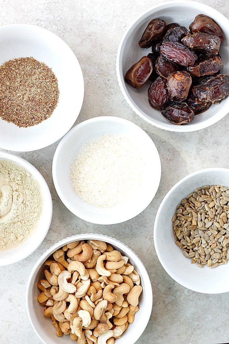 Cashew coconut protein bites recipe coconut protein
