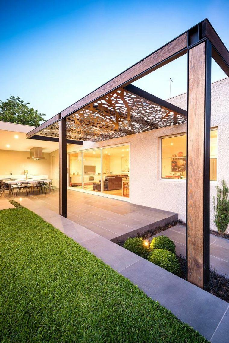 Pergolas-Modelle und mehrere Tipps zum Erstellen von Schattenbereichen #Überdachungterrasse
