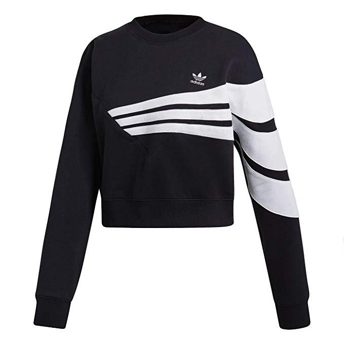 espina Explícito en caso  adidas Originals Originals Sweater Black XS at Amazon Women's Clothing  store | Adidas jacket women, Sweatshirts, Adidas outfit