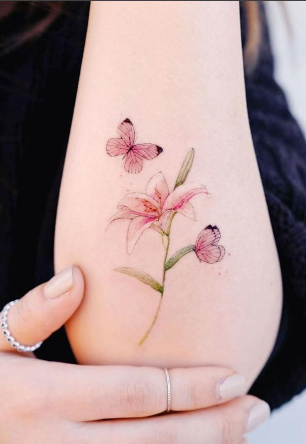 50 Selected Butterfly Tattoos, Sexy and Beautiful - Lily Fashion Style