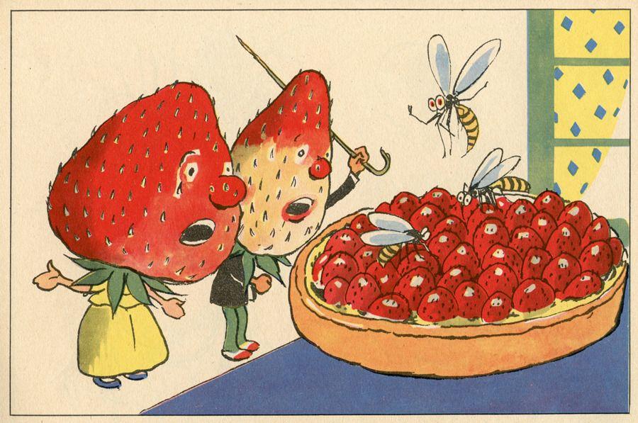 Louis Peltier French 1885 1946 Le Jardin Anime A Coloring