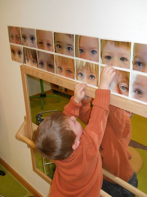 Projekt: ICH - das bin ich, das kann ich - Kindergarten St. Peter u. Paul #kitaräume