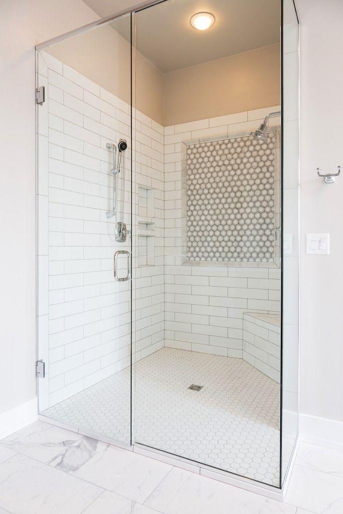 Shower Floor Whisper White 2 Quot Hexagon Shower Walls Soho
