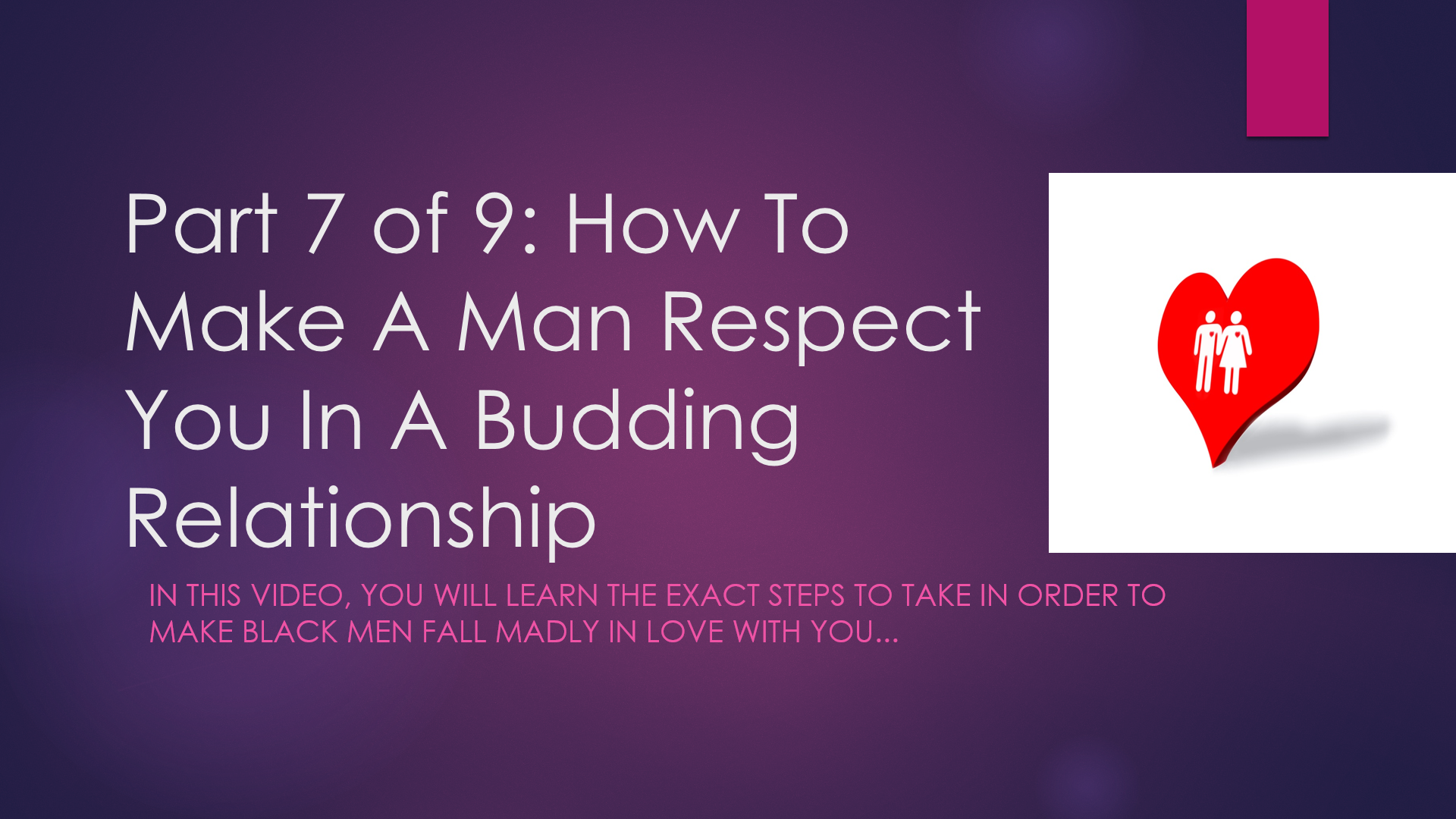 How to learn to respect a man, and why it is so important 85