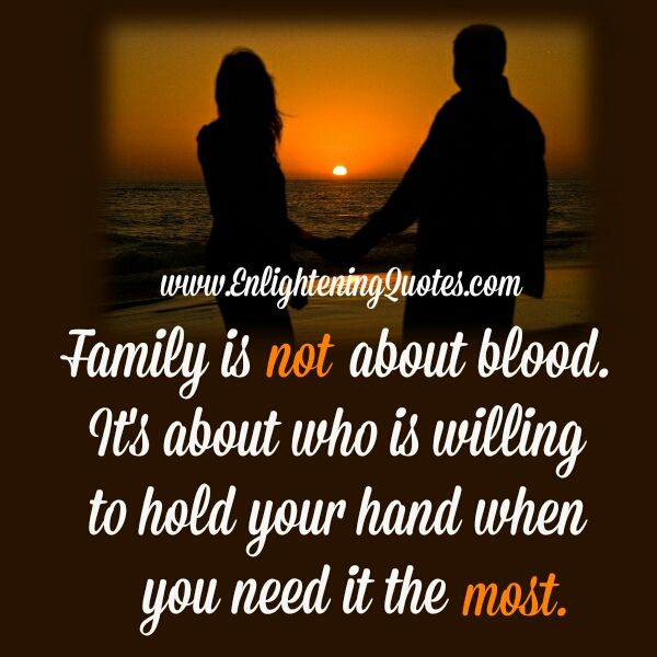 Family is not about Blood Family quotes, Family, Blood