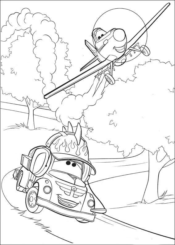 Planes Ausmalbilder. Malvorlagen Zeichnung druckbare nº 75 ...