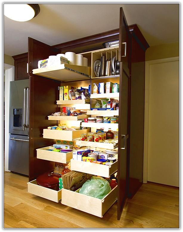 Pantry Cabinet Organizers with Pantry Organization Systems