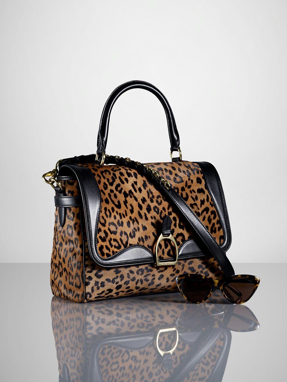 c274ec020 Ralph Lauren Haircalf Equestrian Satchel Price: $3500.00 | Sale Price:  $2449.00