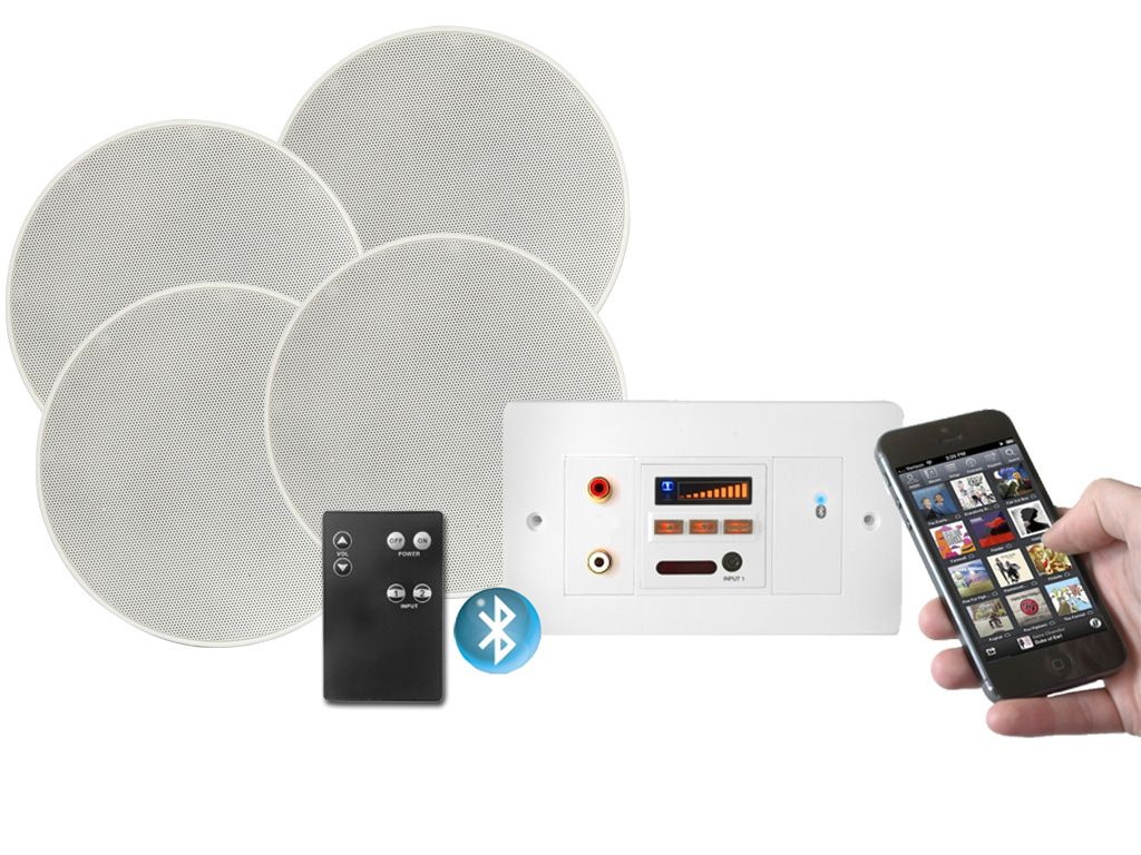 Bluetooth Bathroom Ceiling Speaker. lithe audio bluetooth ...