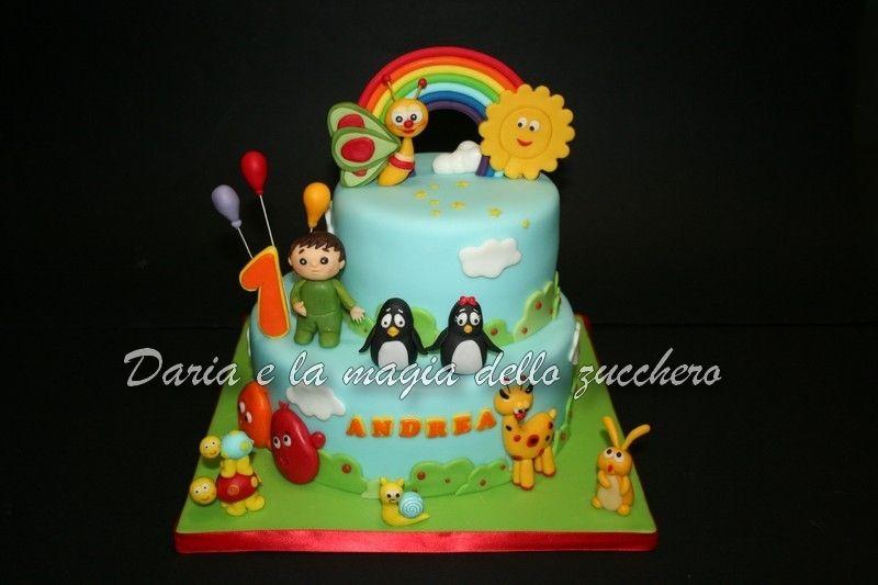 Torte Bambini ~ Torta baby tv baby tv cake baby tv children cakes torte
