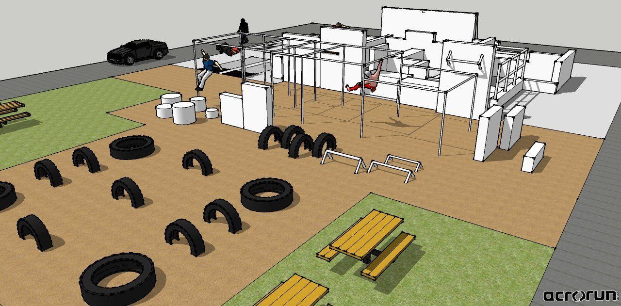 acrorun gym ideas pinterest parkour obstacle course and gym