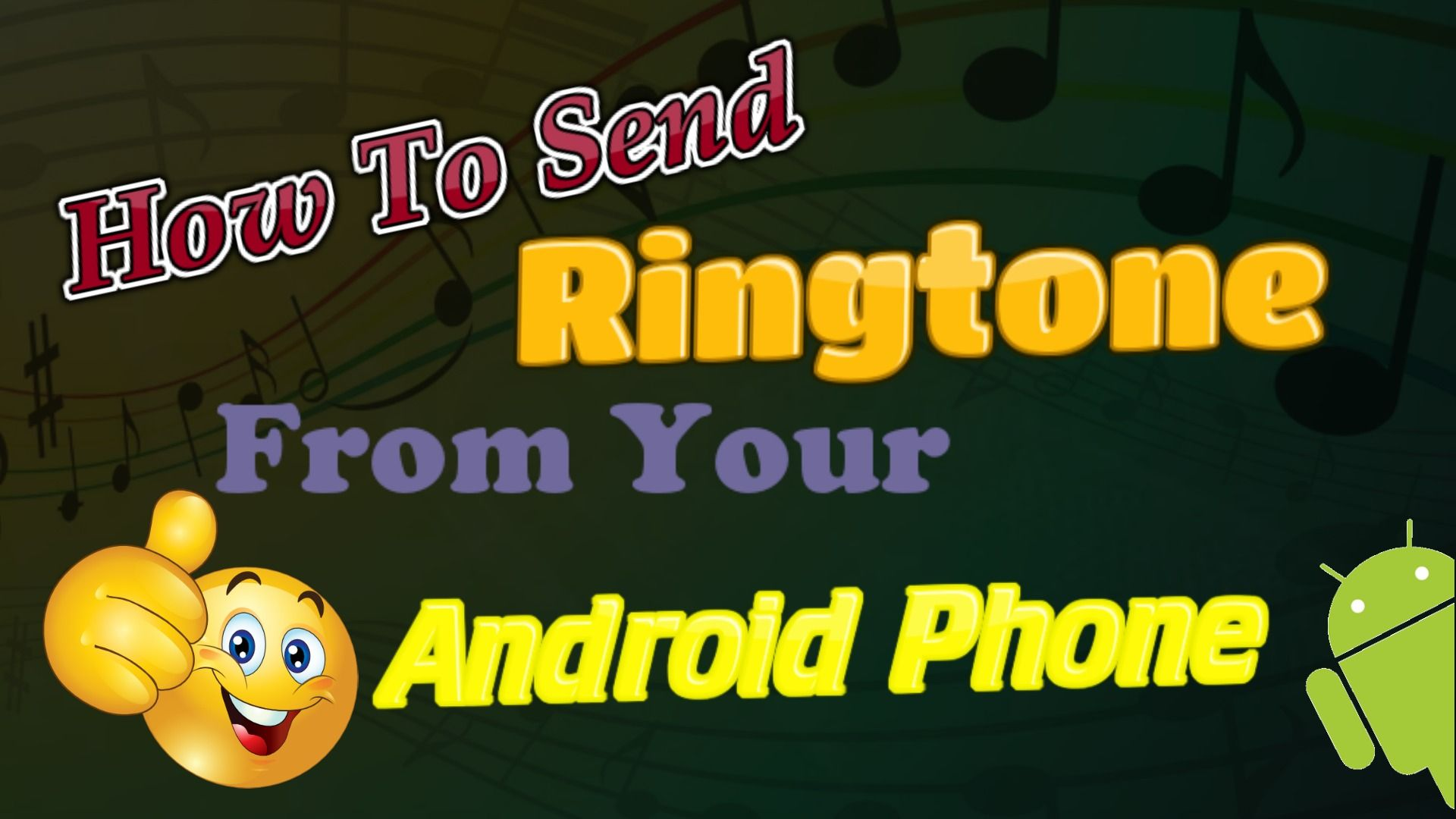 A ringtone is the sound coming from a mobile phone if you