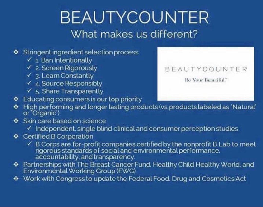 Why BeautyCounter? Safe beauty products, Beautycounter