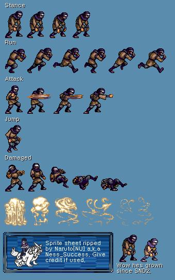 Sprite Database Sound Ninja In 2019 Pixel Art Sprite