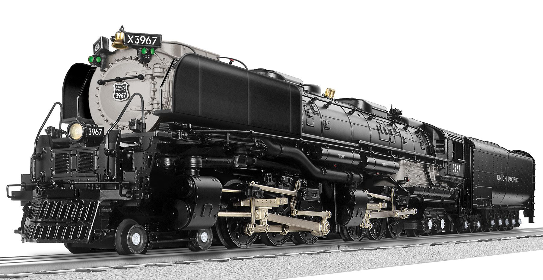 Union Pacific 4 6 6 4 Legacy Challenger Coal Fired 3967