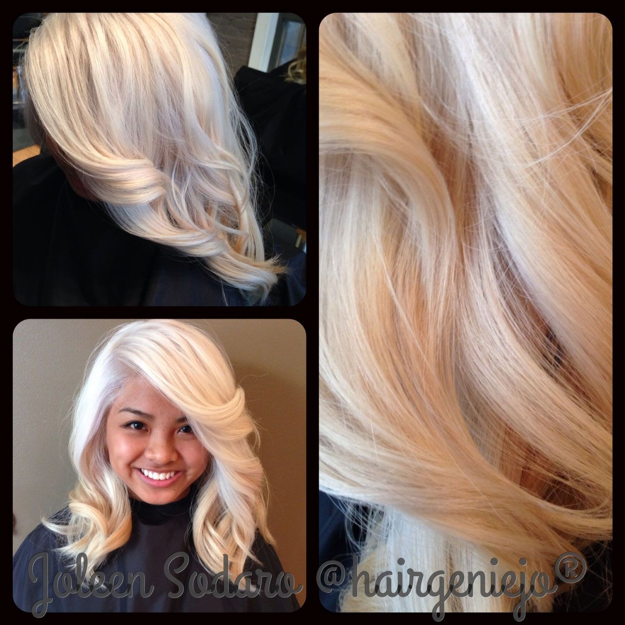 COLOR CORRECTION: Brassy Mess to Level 10 Platinum Princess ...