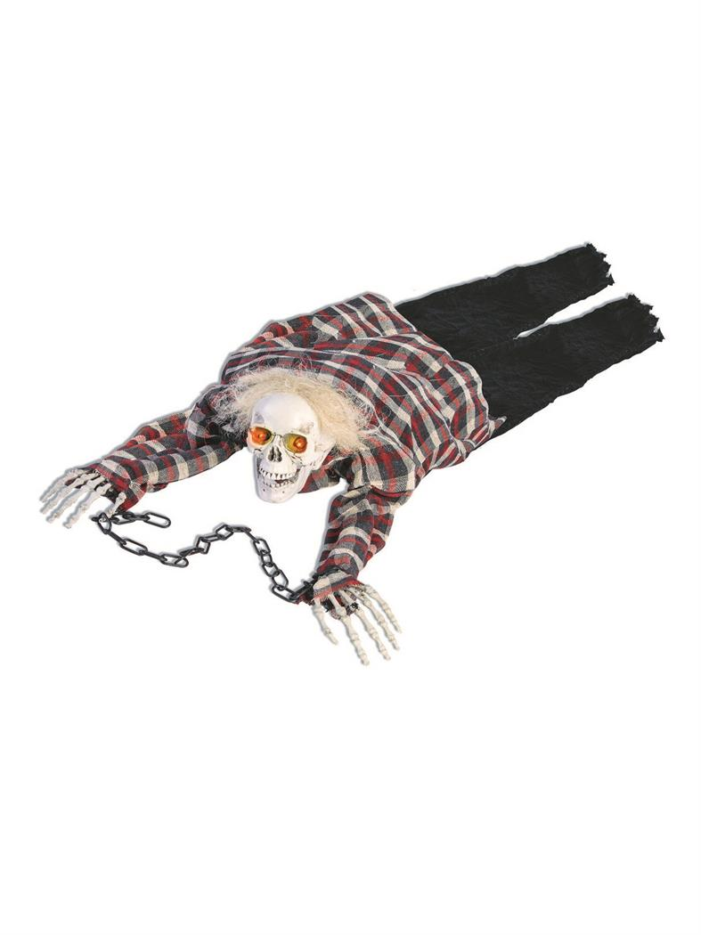 Crawling Skeleton Partybell Com Animated Halloween Props Halloween Props Halloween Outdoor Decorations