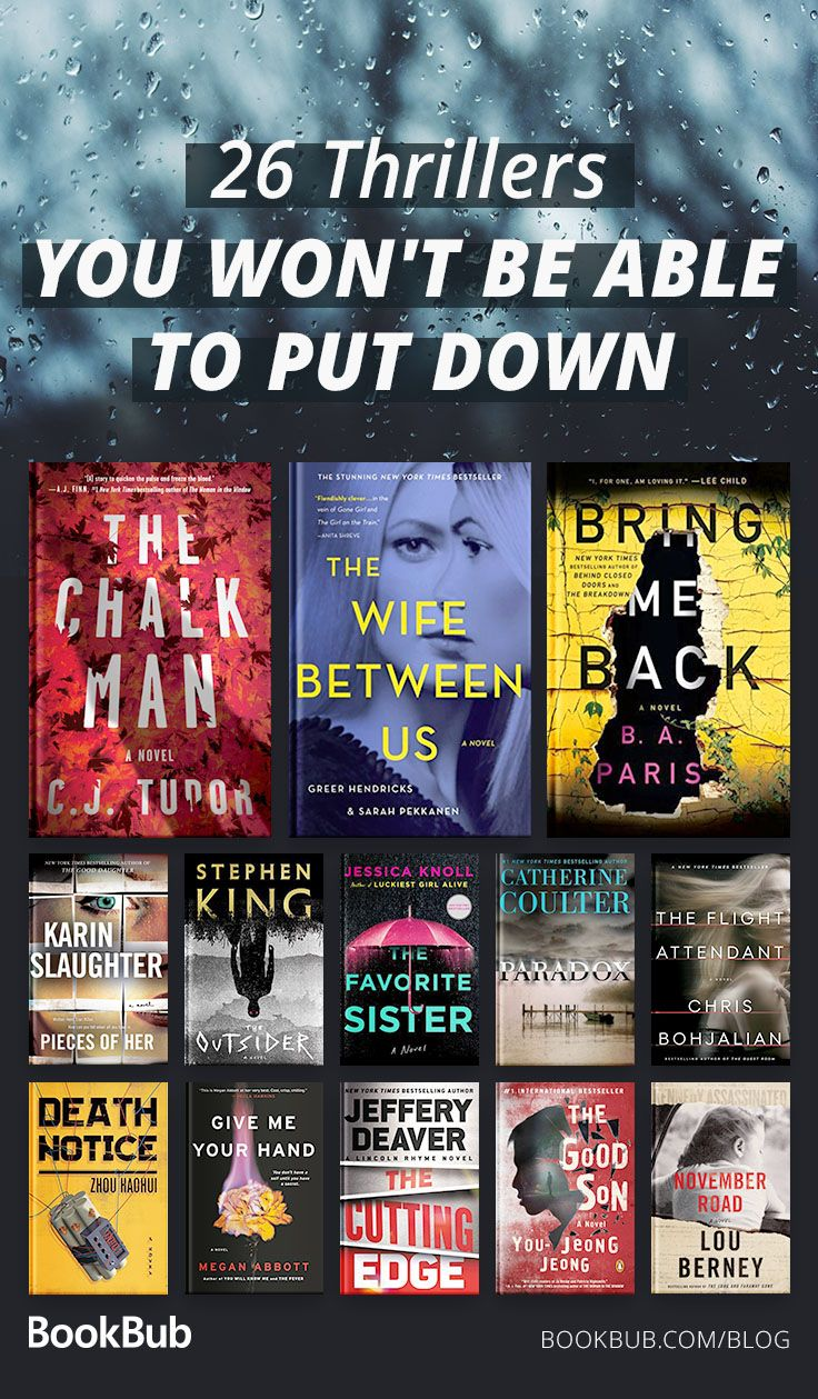26 Thriller Books We Couldn't Put Down This Year #bookstoread