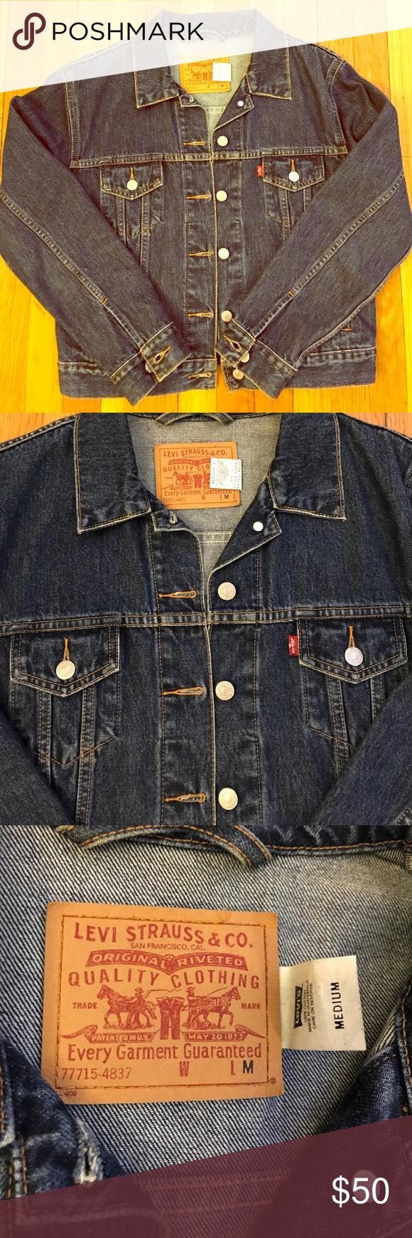 Vintage Levi S Indigo Denim Jacket Lower Price Indigo Denim Jacket Denim Jacket Denim Jacket Women [ 1740 x 580 Pixel ]