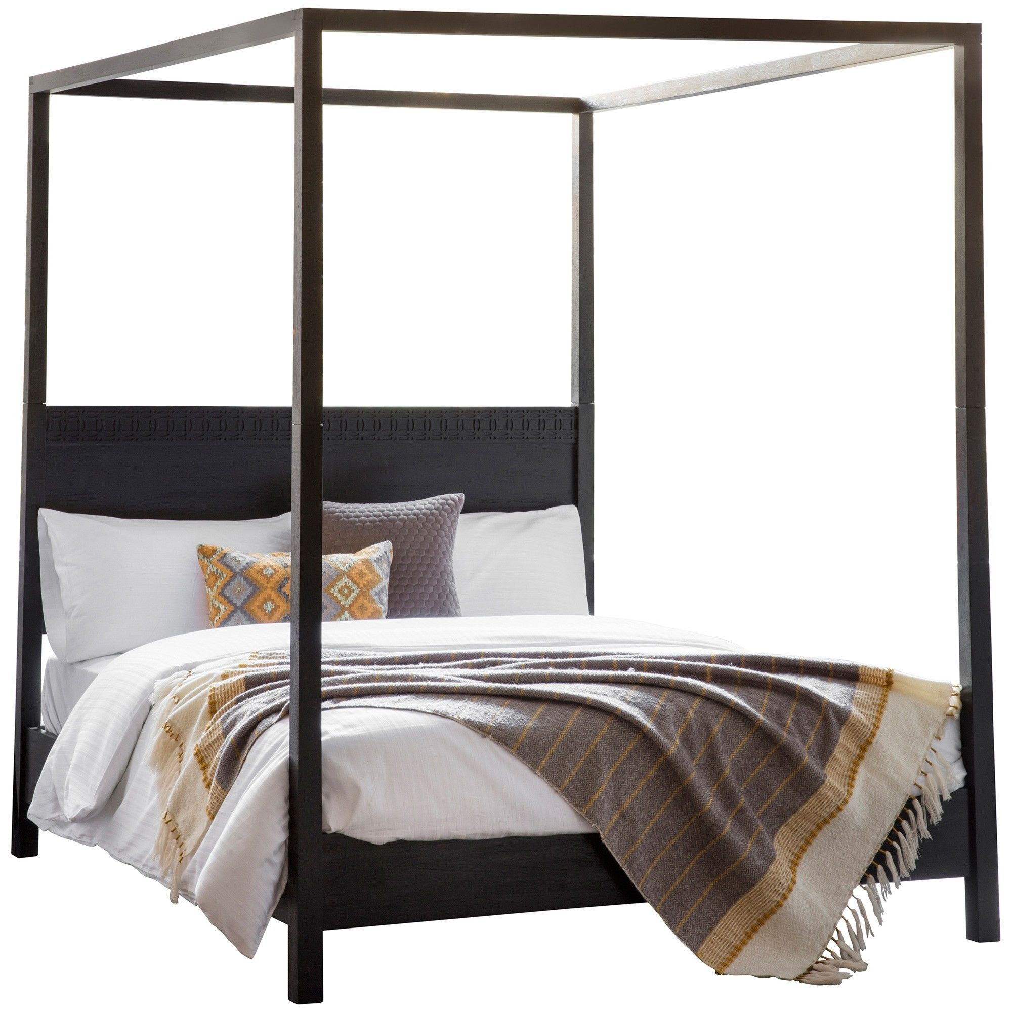 Baila Boutique Mango Wood 4 Poster Bed King In 2019 4 Poster