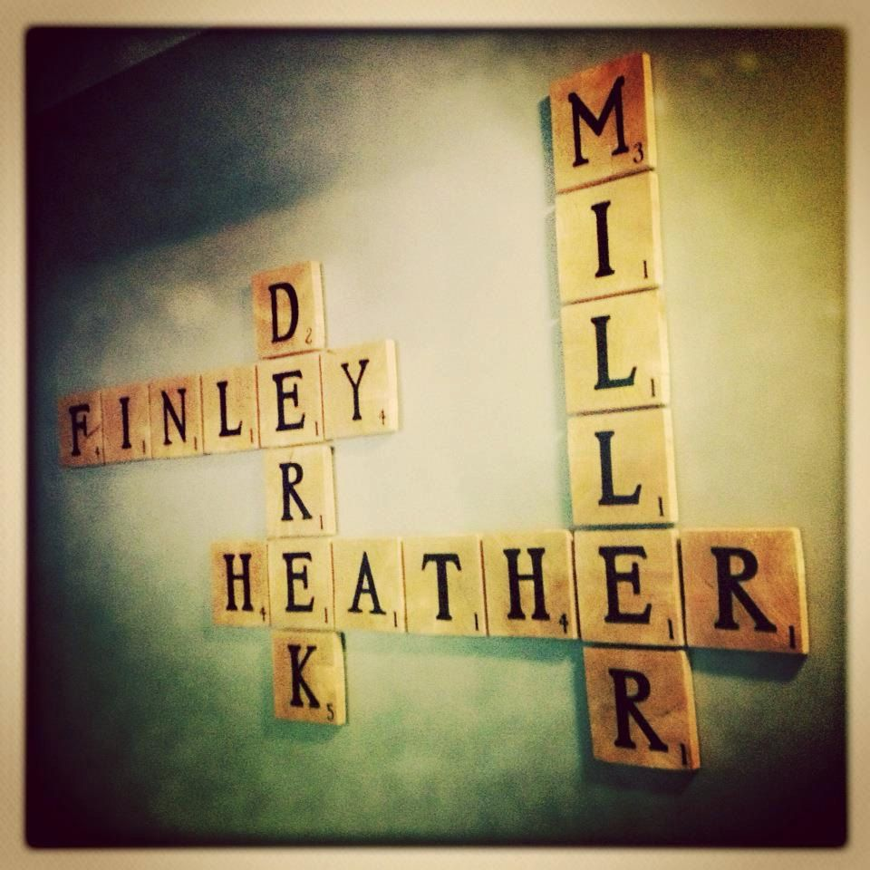DIY giant scrabble letters | Home Decor | Pinterest | Scrabble ...