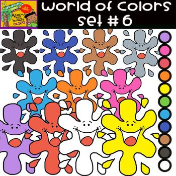The Colors World Of Colors 13 Items Set 6