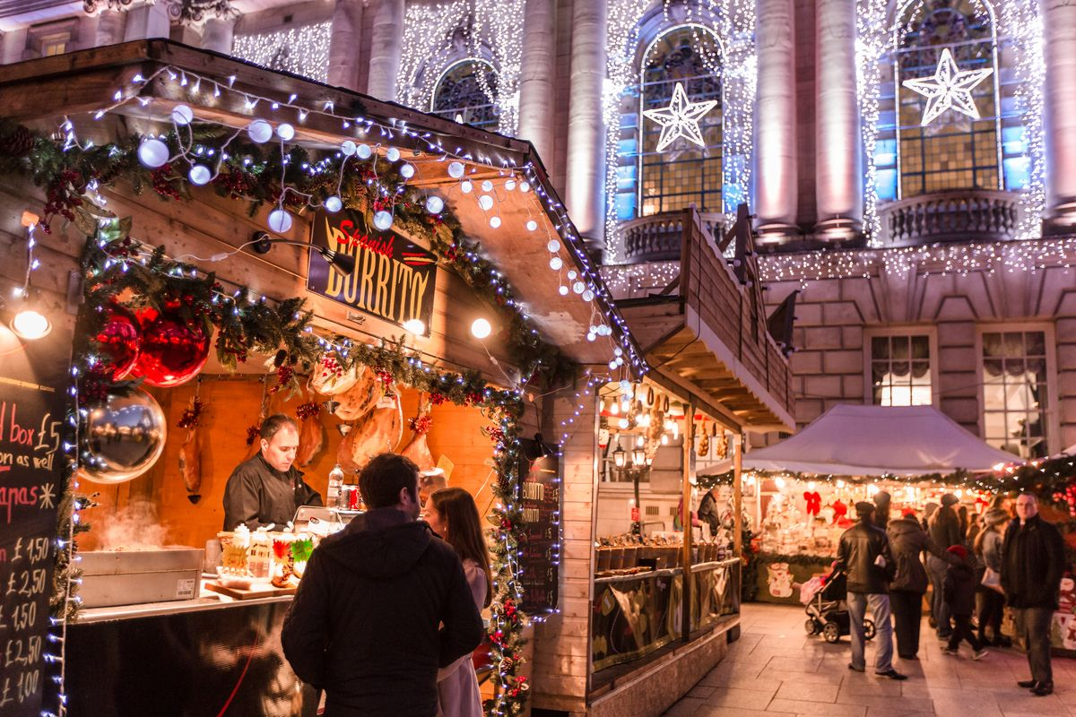 Opening in midNovember, Belfast Christmas Market injects