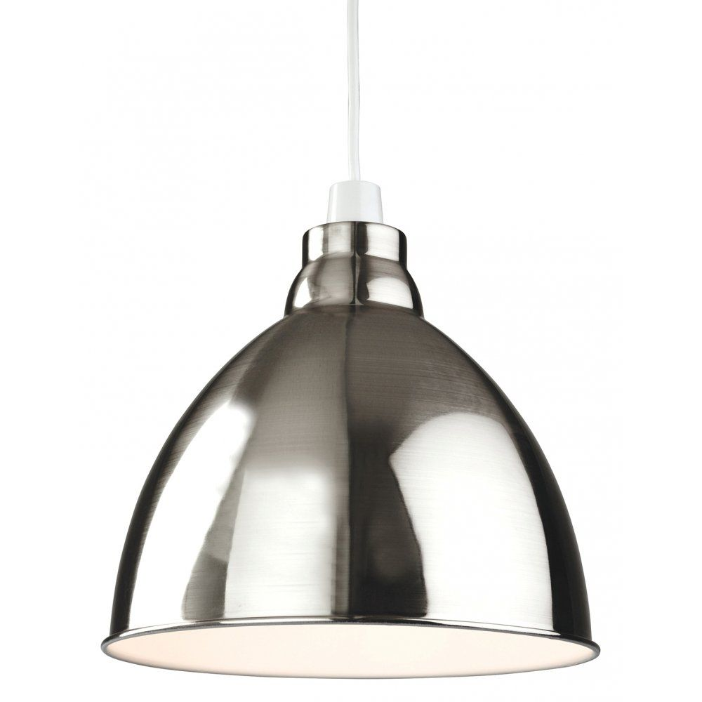 Firstlight Union Easy Fit Ceiling Light Pendant Shade in a Brushed ...