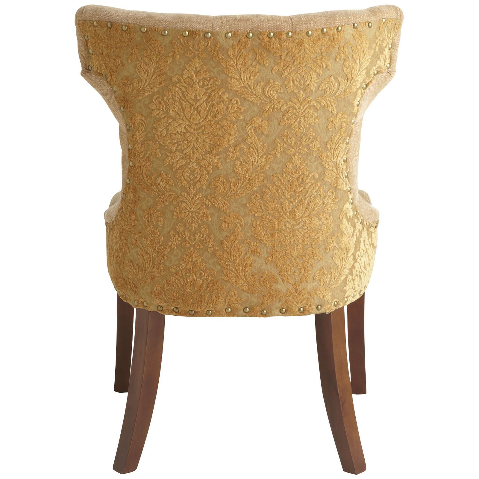Hourglass Dining Chair Gold Damask Pier 1 Imports