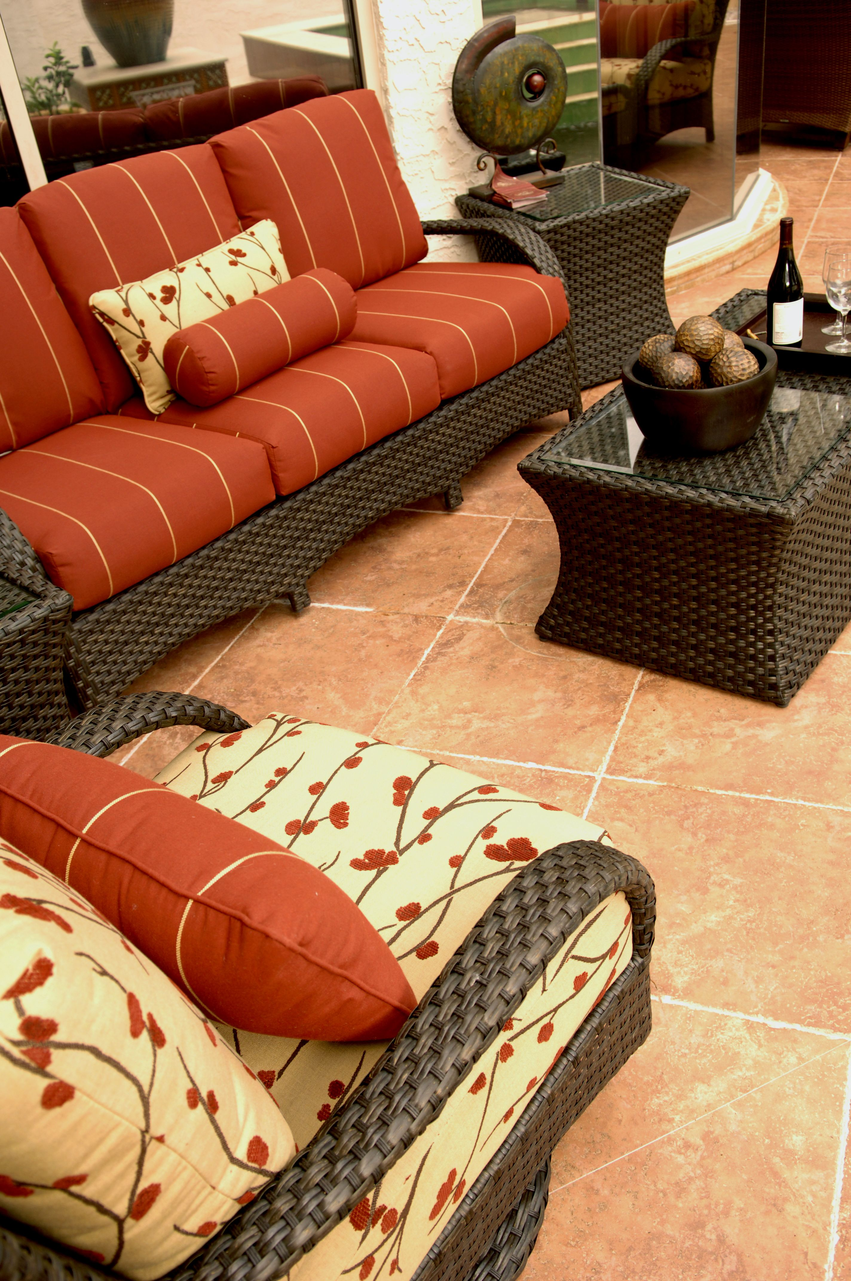 Ebel - Martinique Collection. Deep Seating Outdoor Wicker