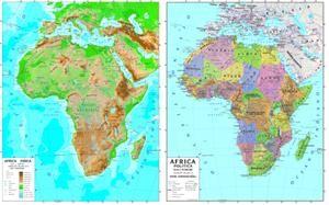 Cartina Geografica Dell Italia Fisica E Politica.Cartina Geografica Dell Africa Fisica E Politica Risultati