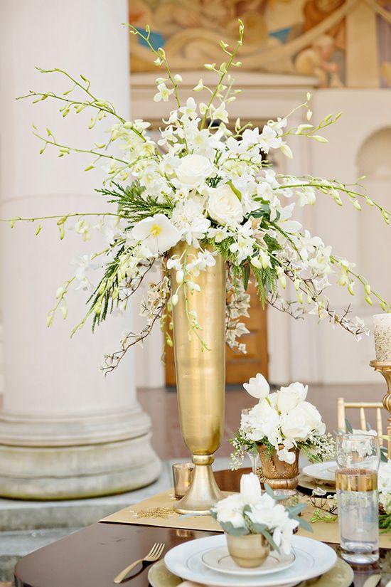 Gold Wedding Ideas Gold Wedding Centerpieces Wedding
