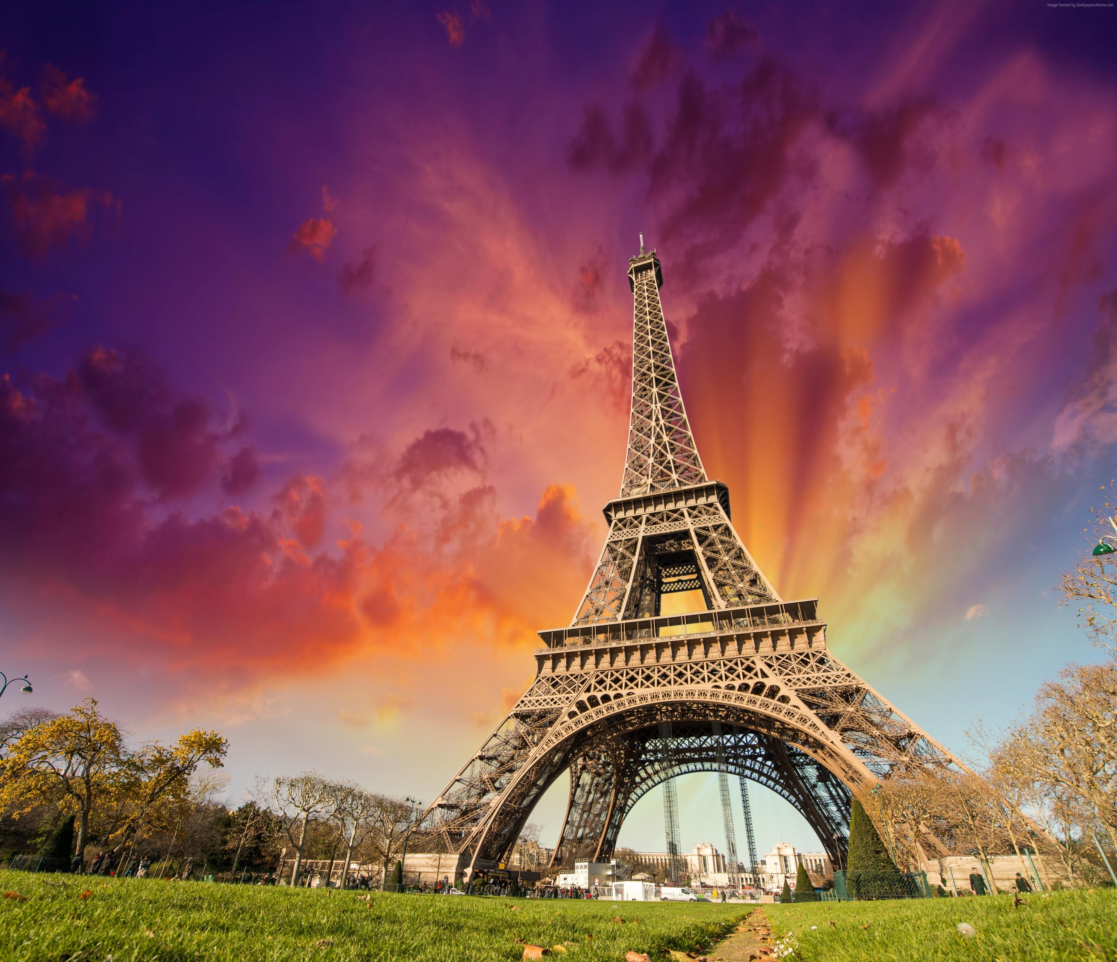 eiffel tower paris france europe hd desktop wallpaper high