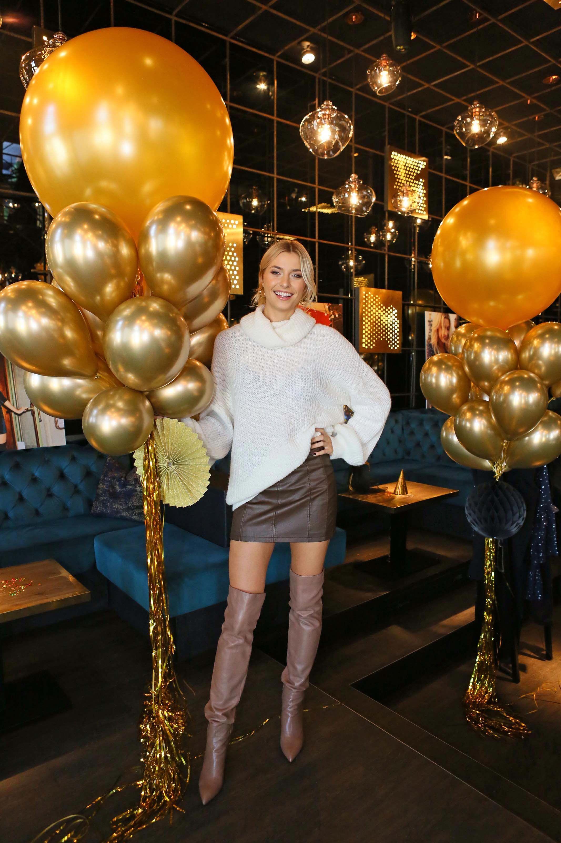 Lena Gercke Presents Her New Label Highheelboots M In