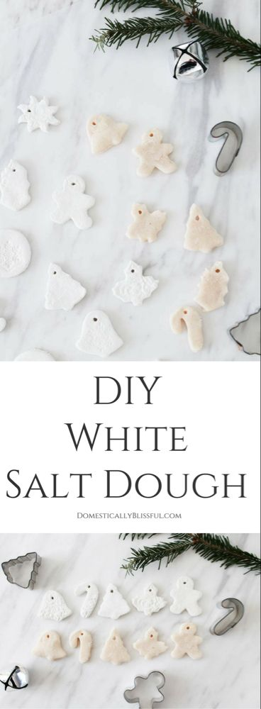 DIY White Salt Dough Recipe