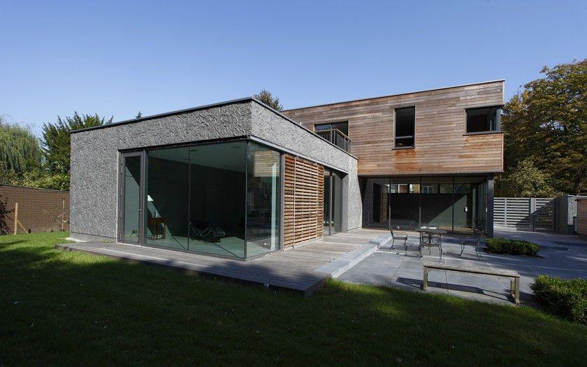 16 best modèle de maison images on Pinterest Contemporary - maison bois en kit toit plat