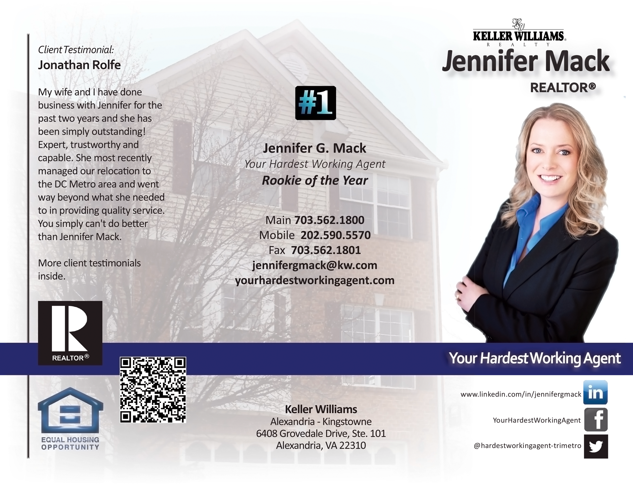 Realtor Flyer, Keller Williams | Real Estate | Pinterest
