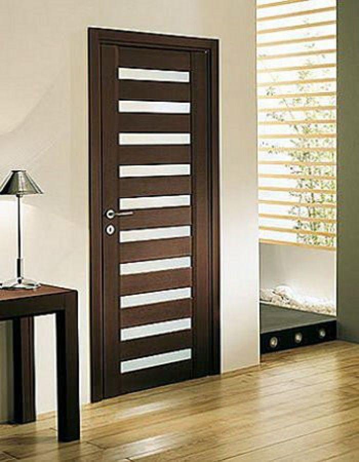 Puertas madera minimalistas 1 puertas pinterest - Puertas de madera entrada principal ...