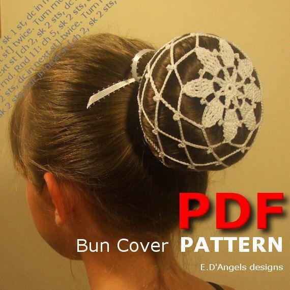Crochet Bun Cover Pattern Crochet Pattern Crochet Ballerina Bun