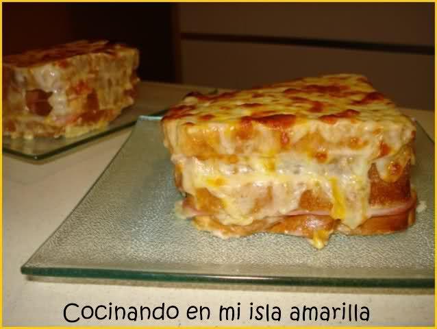 Sandwich gratinado