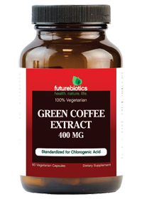 Green Coffee Extract 400 Mg 90 Vegetarian Capsules Green