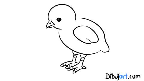 Sketch   Bosquejo de un pollito pio   Feltro   Pinterest