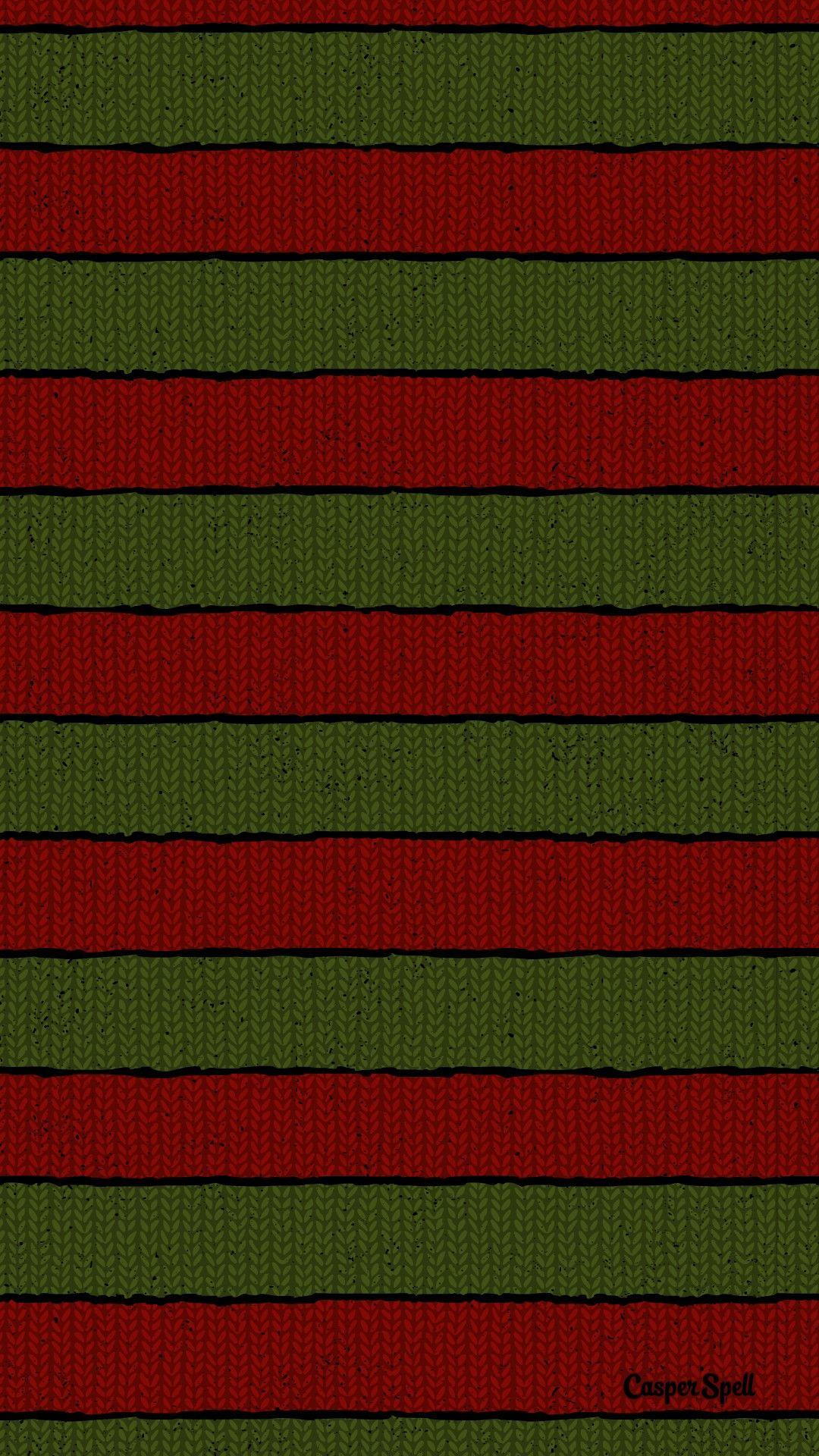 Freddy Krueger Sweater Pattern Art Background Repeat Wallpaper